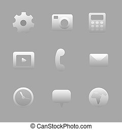 Interface Icon Set.