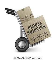 international, global, schiffahrt, handeln