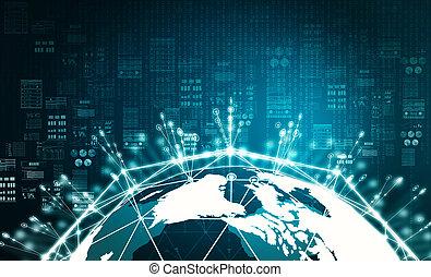 Internet Big Data Information Konzept