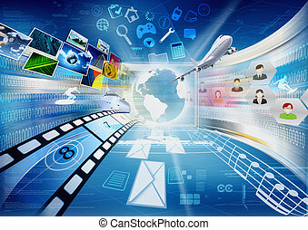 Internet und Multimedia-Teilnehmer
