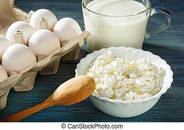 joghurt, eier, kã¤se