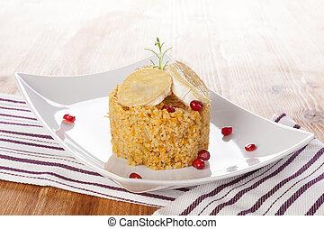 köstlich , couscous.