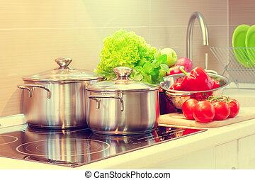 Küchenzubereitung. Ein Diätkonzept