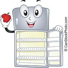 Kühlschrank-Maskottchen