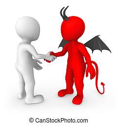 Kümmere dich um den Teufel.