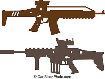 Kampfgewehre.