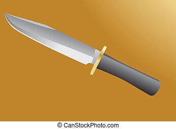 Kampfmesser.