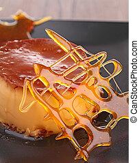 Karamell-Dessert