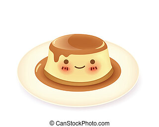 karamelvanillepudding, pudding
