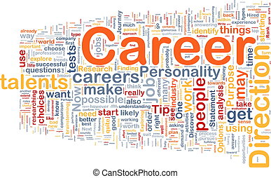 Karriere Hintergrundkonzept