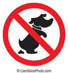 Kein Hundezeichen