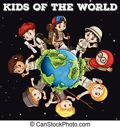 Kinder der Welt.