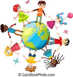 Kinder sind die Welt