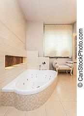 Klasse Haus - Badezimmer-Innen