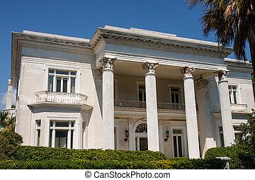 Klassisches Haus am Stuck