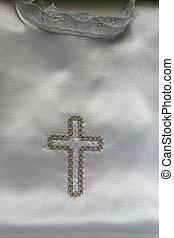 kleiden, taufe, detail