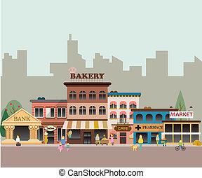 Kleine Gebäude