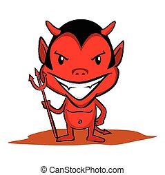 Kleiner Teufel.