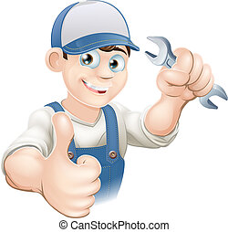 Klempner oder Mechaniker