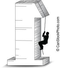 Klettern zum Erfolg