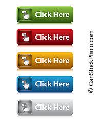 Klicken Sie hier Button für Website 5 Farbe.