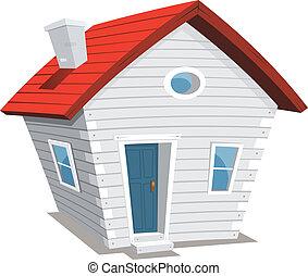 Komisches kleines Haus