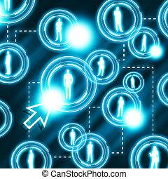 kommunikation, vernetzung, sozial