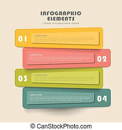Kreative Banner infographics Design.