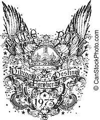 Kron- und Flügel-Abbildung