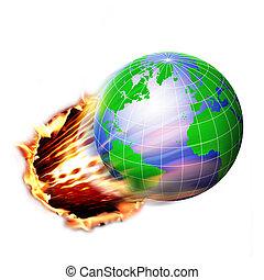 kugelförmig, global