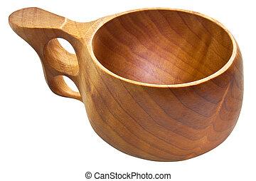 Kuksa - traditioneller Finnisch-Holzbecher