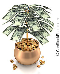 kultivieren, bargeld