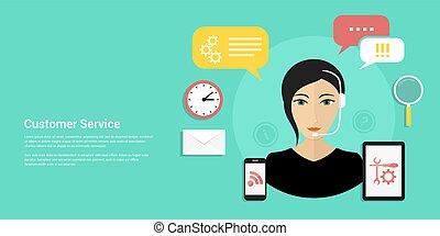 Kundenservice Banner
