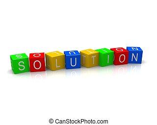 Lösungswürfel