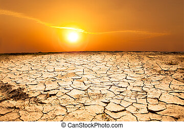 land, wetter, dürre, heiß
