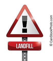 Landeplatzwarnzeichen