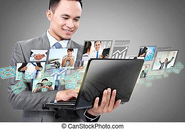 laptop, kaufleuten zürich