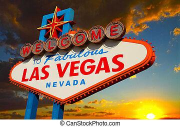 Las Vegas-Schild