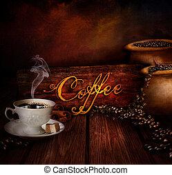Lebensmitteldesign - Kaffeelager