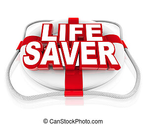 Lebensrettungsmittel helfen in Momenten der Krise oder der Gefahr