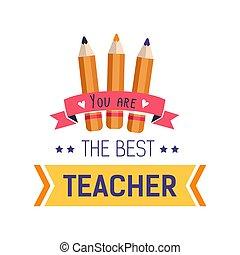 Lehrer Tag isoliert Ikonen-Schüler Wertschätzung.