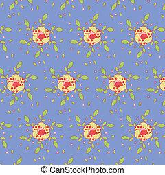 Leichtes Blumenmuster farbenfrohes Set
