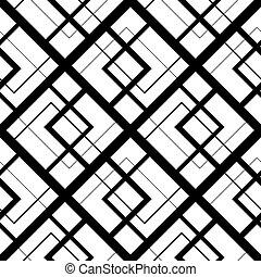 Leichtes Muster mit Quadraten, Vektor Illustration