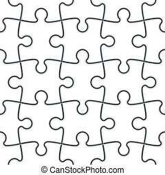 Leichtes Puzzle