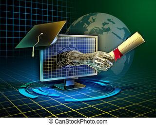 lernen, online