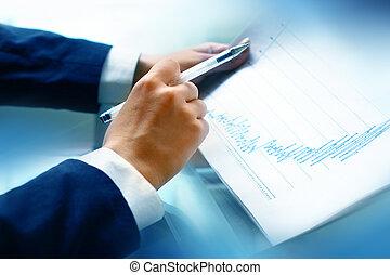 lesen, bericht, finanziell