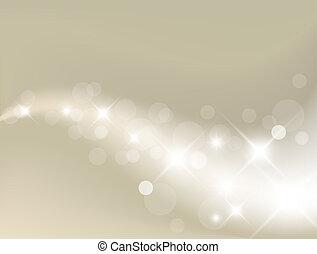 licht, hintergrund, silber, abstrakt