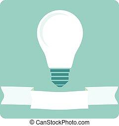 licht, lampenikon, zwiebel