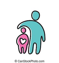 Liebes-Herz-Mutter-Ikone