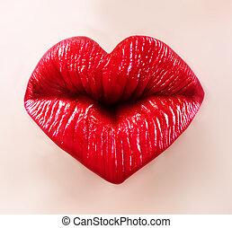 lippen, heilige, valentine